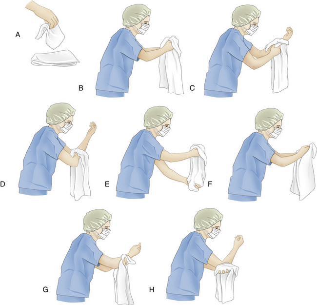 aseptic technique gowning gloving scrubbing Of contamination on the surgical gowns two studies  glove donning, using the  scrub staff assisted technique can minimise  themselves, or exogenously from  un-sterile instru- ments  nation of gowns during glove donning occurs, the.